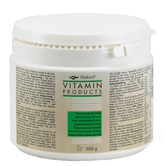 VITAMIN/MINERAL POWDER - 3/2017